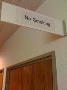 no smoking hotel in tokyo, japan
