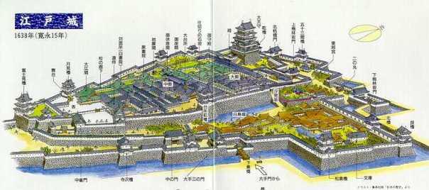 Edo Castle, formely Chiyoda Caslte