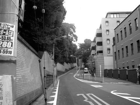 Tsunazaka (Tsuna Hill) in the Now Period.