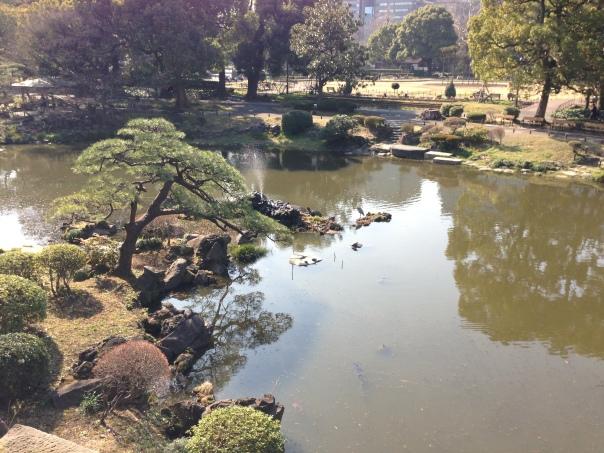 remains hibiya-mitsuke moat