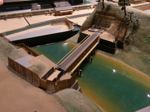 A model of the water bridge and the water river... or something...
