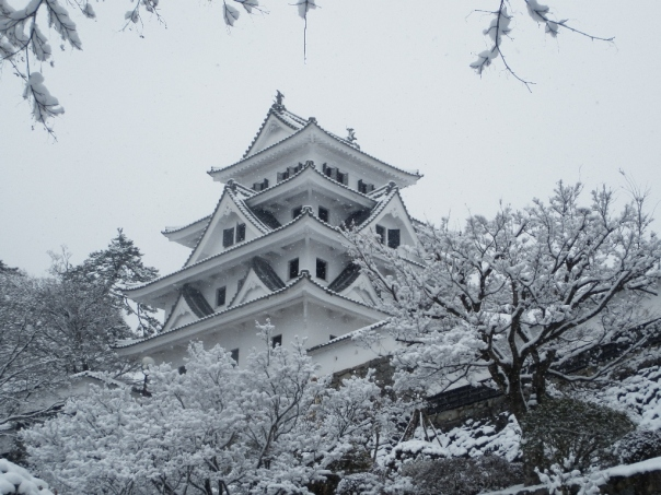 Gujo-Hachiman Castle Today (it's a reconstruction from 1933), but the town and castle look well worth a visit.