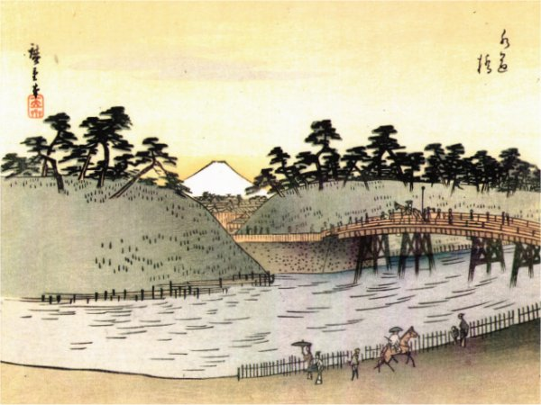 Suidobashi in the Edo Period