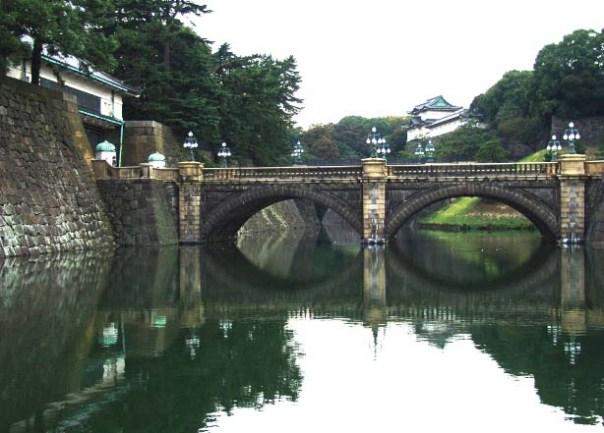 Double Bridge or Glasses Bridge - Tokyo Imperial Palace