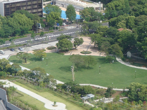 The ruins of Daitokuin have been turned into a park, you can see the area well from Tokyo Tower.