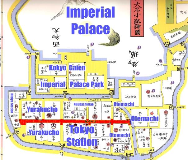 Daimyo Alley → Marunouchi
