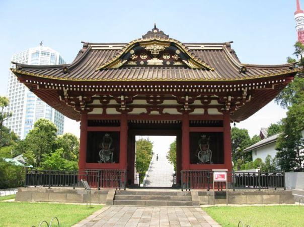 The Main Entrance to Daitokuin as it looks today.