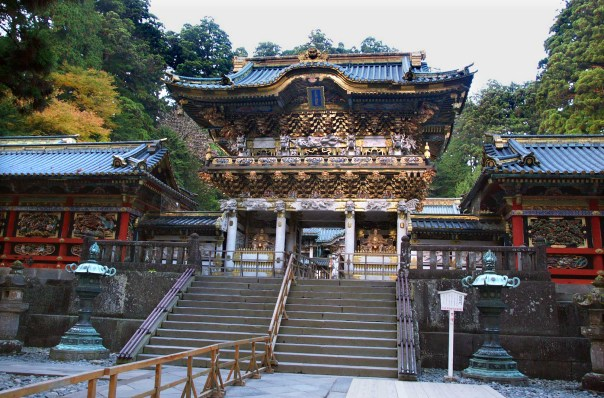 Main gate of Nikko Toshogu.