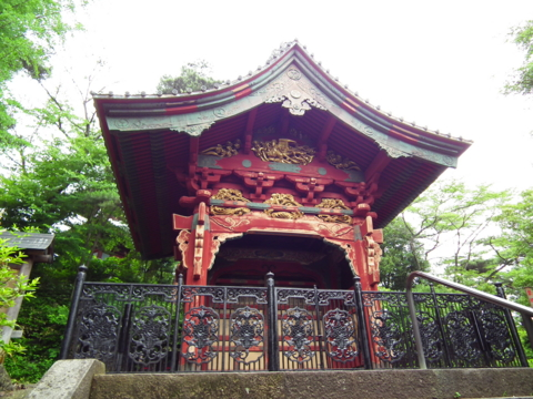 Oinarimon, the Inari Gate as it looks today. Now it is preserved at Fudo-ji in Tokorozawa, Saitama.