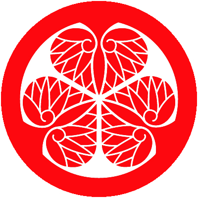 The Tokugawa family crest - one of the most easily identifiable logos in the country.