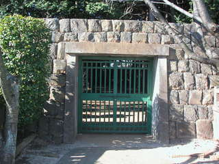 Entrance to the Tokugawa Family Shogun Graves at Kaneiji