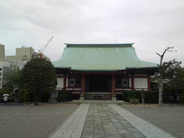The modern temple isn't much to look at, but they're a pretty major land holder in Tokyo. That's prime real estate, my friend.