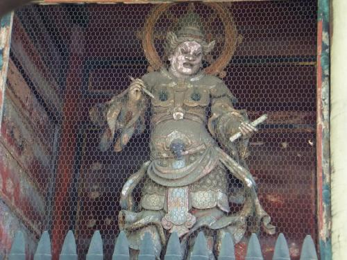 広目天 Kōmokuten (Virupaksha in Sanskrit) - basically a pissed off deity.