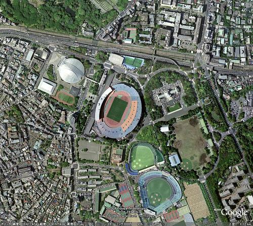 The National Olympic Stadium