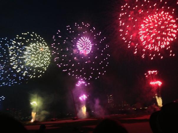 江戸川花火大会・ヤンキー多いw
