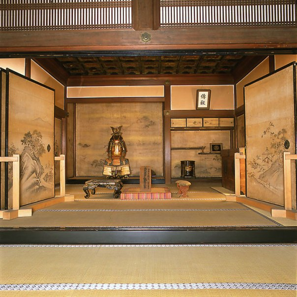 The Edo Castle room in which the 3rd Shogun, Tokugawa Iemitsu was born.  (supposedly)