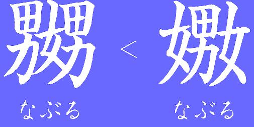Random perverted kanji image.