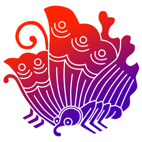 The Taira Clan (called Hei-shi in Japanese) used a stylized butterfly crest called the 蝶紋 chō mon. Most branch families adapted the butterfly into new designs for themselves.