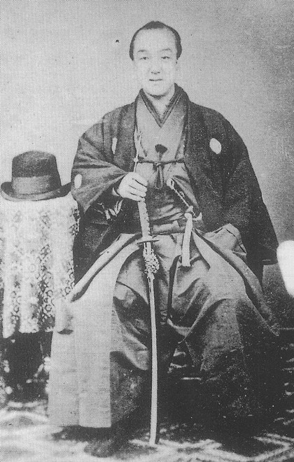 Matsudaira Yoritoshi, last lord of the Takamatsu Matsudaira Family. (ie; the dude who had to surrendur his bad ass mansion in Edo to the Meiji Government)