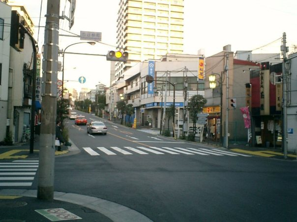 Yanagicho intersection these days.