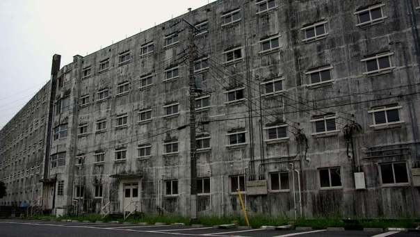 Ogikubo's abandoned residential complex. Tokyo's mini-Detroit was demolished earlier this year.