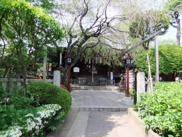 Hakusan Shrine, Bunkyo Ward.