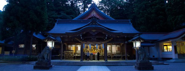 Shirayama-hime Shrine in Ishikawa Prefecture.