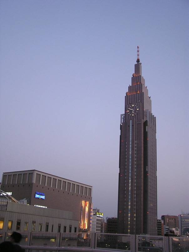 The NTT DoCoMo Building. Sometimes a purely derivative and truly bizarre choice in architecture can work.
