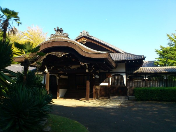 The entrance to the study of the Owari Tokugawa's sprawling residence.