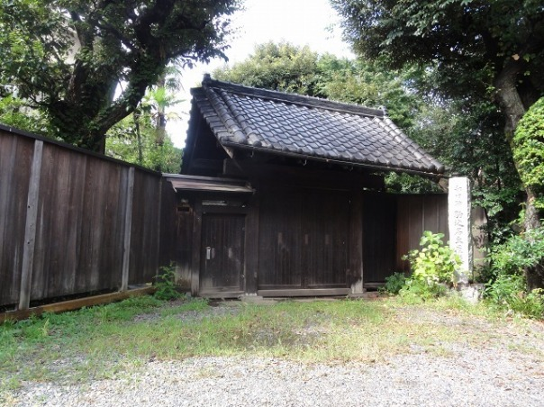Edo Period gate to the residence of the Komagome Village headman.