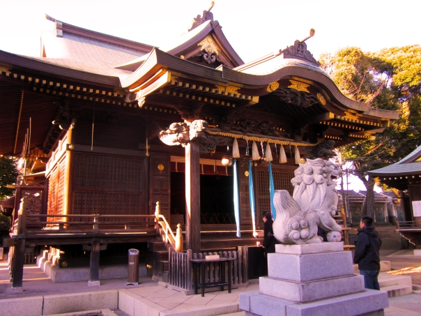 Suwan Shrine is located on the former Miharidai area. The shrine is now in an Edo Period style. In the time of Ota Dokan, it would have been a small afterthought.