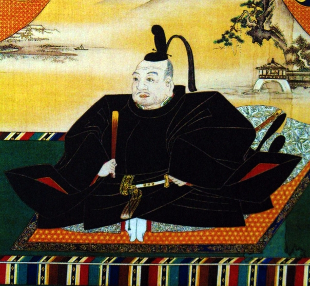 Tokugawa Ieyasu. See that wall painting? That's a link between pre-Edo art and next era funerary Edo art.