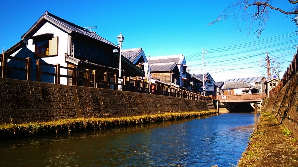 Of course this isn't Edo or Tokyo, but this does give you a close version of what many of the small rivers or channels of Edo may have looked liked.