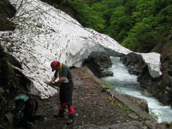 The headwaters of the Tonegawa in Gunma Prefecture.