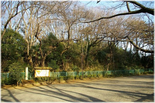 This doesn't look like much, but it's a kofun (burial mound) in Tamagawa burial mound park.