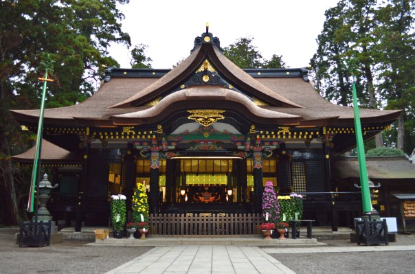 Katori Grand Shrine in Chiba. This is the main shrine, but it has many branch shrines throughout the area.