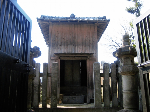 Kuroda Nagamasa's grave or something...