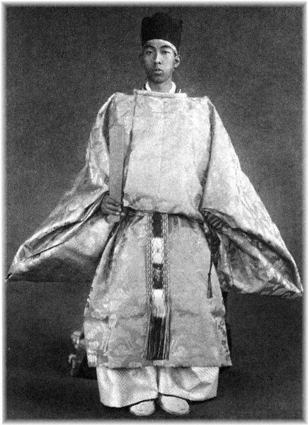Prince Takamatsu looking  fabulous in his imp-wear.