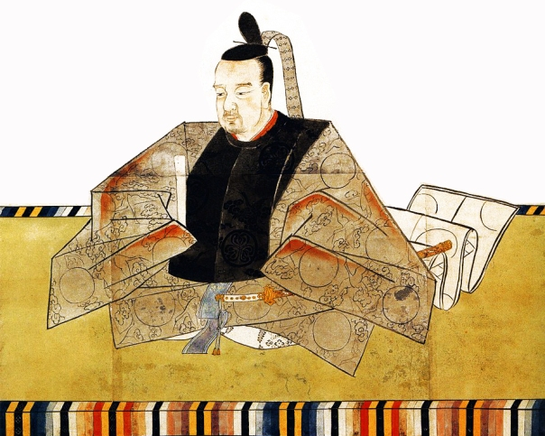 Tokugawa Ienari looking quite dapper and not-so-riddled by syphilis.