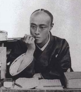 Come on. Look at this face. You don't want to behead me. What would the ladies do? Tokugawa Yoshinobu