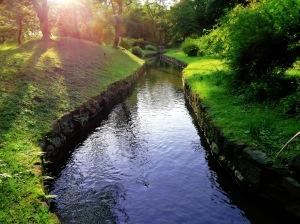 The Kanda Aqueduct in Koishikawa