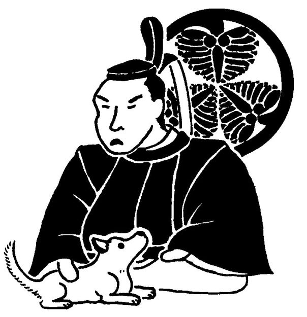Believe it or not, this is the official image of Tokugawa Tsunayoshi issued by the shogunate.