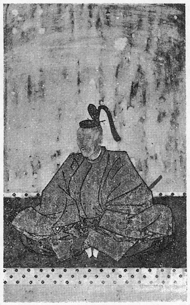 Edo Katsutada's funerary picture. But don't worry. He's not dead yet.