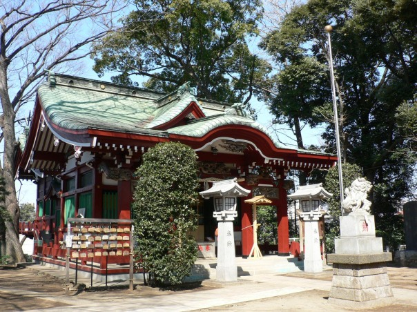 Komatsunagi Shrine as it looks today.