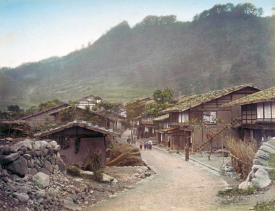 A typical Edo Period post town.
