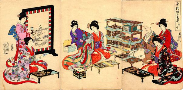 Women of the Ōoku in Edo Castle