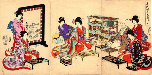 Women of the Ōoku in Edo Castle