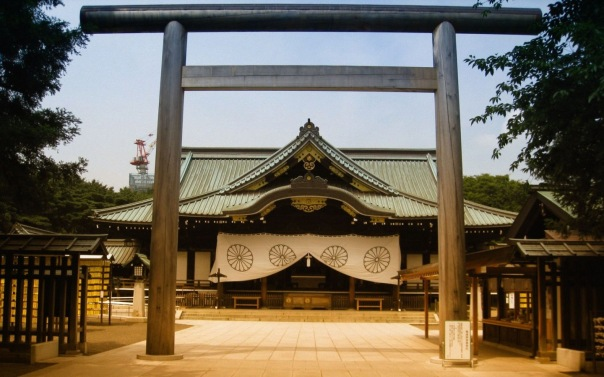 This is Yasukuni Shrine. It is a product of the Meiji Coup. It's a product of Mito Learning. It's a product of Japan's coming to terms with an international world as it dragged itself kicking and screaming into a new world.  It's also creepy as all hell.