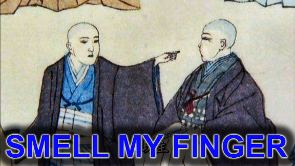 Spoiler alert.  Nagai Naomasa becomes a monk.