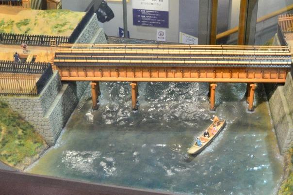 The Suidōbashi (aqueduct bridge) in the Edo Period.